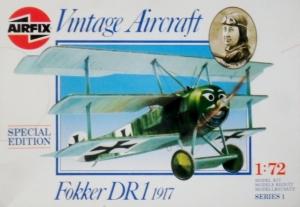AIRFIX 1/72 01074 FOKKER DR.I 1917