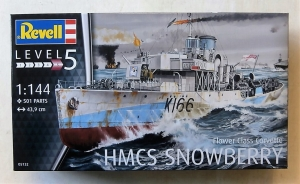 REVELL 1/144 05132 FLOWER CLASS CORVETTE HMCS SNOWBERRY