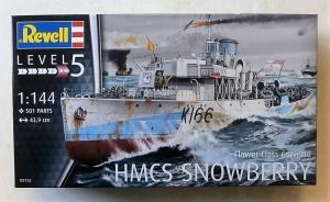REVELL 1/144 05132 FLOWER CLASS CORVETTE HMCS SNOWBERRY
