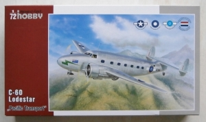 SPECIAL HOBBY 1/72 72295 C-60 LODESTAR PACIFIC TRANSPORT