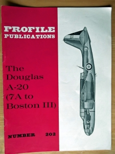 PROFILES AIRCRAFT PROFILES 202.DOUGLAS A-20 7A TO BOSTON III