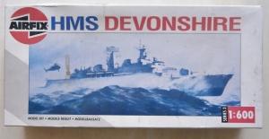 AIRFIX 1/600 03202 HMS DEVONSHIRE