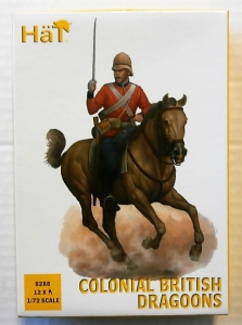 HAT INDUSTRIES 1/72 8288 COLONIAL BRITISH DRAGOONS