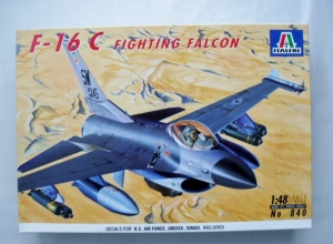 ITALERI 1/48 840 F-16C FIGHTING FALCON