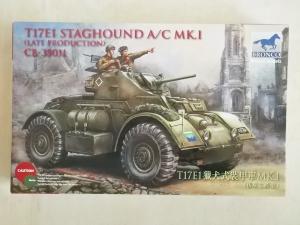 BRONCO 1/35 35011 T17E1 STAGHOUND Mk.I