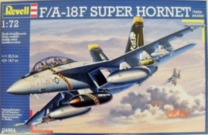 REVELL 1/72 04864 F/A-18F SUPER HORNET TWIN SEATER