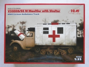 ICM 1/35 35414 V3000S/SS M MAULTIER WITH SHELTER