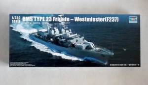 TRUMPETER 1/350 04546 HMS TYPE 23 FRIGATE WESTMINSTER F237