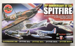 AIRFIX 1/72 08678 70th ANNIVERSARY OF THE SPITFIRE SET