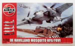 AIRFIX 1/24 25001 DE HAVILLAND MOSQUITO NF.II / FB. VI  UK SALE ONLY