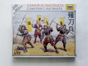 ZVEZDA 1/72 6403 SAMURAI NAGINATA
