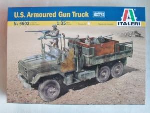 ITALERI 1/35 6503 US ARMOURED GUN TRUCK