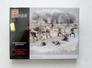 PEGASUS HOBBIES 1/72 7306 WWII FRENCH INFANTRY