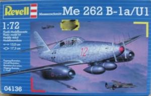 REVELL 1/72 04136 MESSERSCHMITT Me 262B-1a/U1