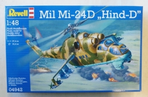REVELL 1/48 04942 MIL Mi-24D HIND D