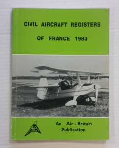 CHEAP BOOKS  ZB700 CIVIL AIRCRAFT REGISTERS OF FRANCE 1983