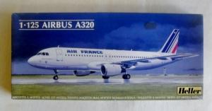 HELLER 1/125 80448 AIRBUS A320 AIR FRANCE/ BA