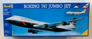 REVELL 1/144 4255 BOEING 747 JUMBO JET BA/THAI
