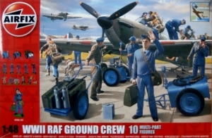 AIRFIX 1/48 04702 WWII RAF GROUND CREW