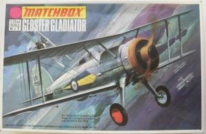 MATCHBOX 1/72 PK-08 GLOSTER GLADIATOR