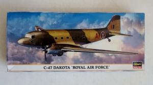 HASEGAWA 1/200 10623 C-47 DAKOTA RAF