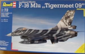 REVELL 1/72 04691 LOCKHEED MARTIN F-16 MLU TIGERMEET 09