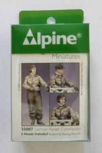 ALPINE MINIATURES 1/35 35087 GERMAN PANZER COMMANDER