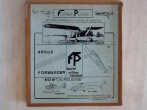 FORMAPLANE 1/72 ARGUS FORWARDER