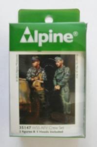 ALPINE MINIATURES 1/35 35147 WSS AFV CREW SET