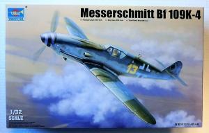 TRUMPETER 1/32 02299 MESSERSCHMITT Bf 109K-4