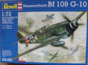 REVELL 1/72 04160 MESSERCHMITT Bf 109 G-10