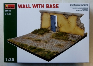 MINIART 1/35 36035 WALL WITH BASE