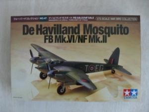 TAMIYA 1/72 60747 DeHAVILLAND MOSQUITO FB Mk.VI/NF Mk.II