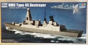 TRUMPETER 1/350 04550 HMS TYPE 45 DESTROYER