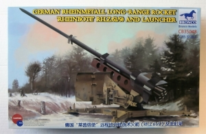 BRONCO 1/35 35048 GERMAN RHEINMETALL LONG RANGE ROCKET RHEINBOTE AND LAUNCHER