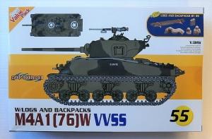 CYBER-HOBBYCOM 1/35 9155 M4A1 76 W VVSS