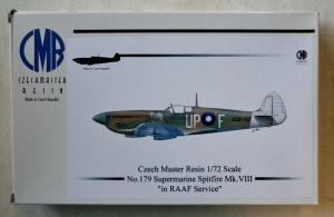 CZECH MASTER RESIN 1/72 179 SUPERMARINE SPITFIRE Mk.VIII IN RAAF