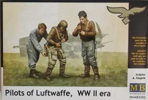 MASTERBOX 1/32 3202 LUFTWAFFE PILOTS WWII ERA
