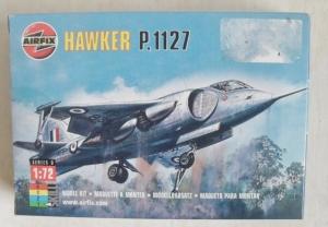 AIRFIX 1/72 00033 HAWKER P.1127