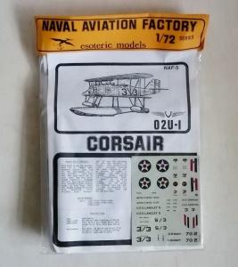 ESOTERIC 1/72 NAF-5 O2U-1 CORSAIR
