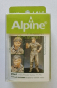 ALPINE MINIATURES 1/35 35067 WSS PANZER CREW 44-45