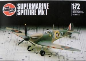 AIRFIX 1/72 01071 SUPERMARINE SPITFIRE Mk.I