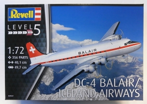 REVELL 1/72 04947 DC-4 BALAIR/ ICELAND AIRWAYS