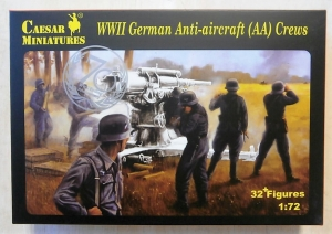 CAESAR MINATURES 1/72 H089 WWII GERMAN ANTI-AIRCRAFT CREWS