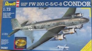 REVELL 1/72 04387 FOCKE-WULF Fw 200 C-5/C-8 CONDOR