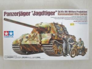 TAMIYA 1/35 35307 PANZERJAGER JAGDTIGER Sd.Kfz.186 OTTO CARIUS