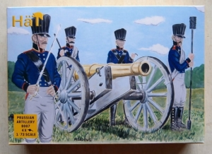 HAT INDUSTRIES 1/72 8007 NAPOLEONIC PRUSSIAN ARTILLERY