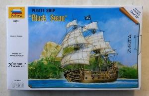 ZVEZDA 1/350 6514 PIRATE SHIP BLACK SWAN