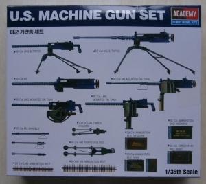 ACADEMY 1/35 13262 US WWII MACHINE GUN SET