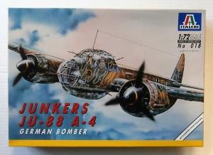 ITALERI 1/72 018 JUNKERS Ju 88 A-4